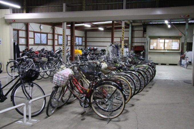中央自転車駐輪場